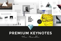 Presentation Templates / Every designer needs to present his works. Here are some nice presentation templates.