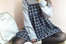 dress/skirt combine
