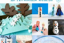 Frozen party / by Sheria Richards