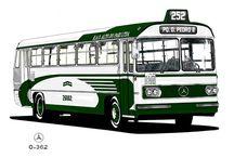 SP 60/70 / Ônibus antigos da cidade de São Paulo.