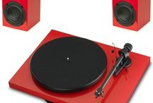 Turntables & Accessories / Turntables, Accessories, Amplifier, Speakers