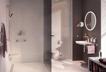 Modern bathrooms for elderly or wheelchair users