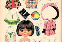 boneca de papel