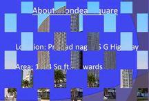 Office for rent Mondeal square Prahladnagar s g highway