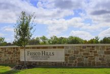 Frisco Hills / Frisco Hills in Denton County, TX is a new master-planned development planned across 300 acres only minutes from Lake Lewisville.  Frisco Hills will feature some award winning builders, plans for an amenity center and an onsite school within the Frisco ISD school district.  Location: Frisco Hills will be located along the new road of Virginia Parkway just south of Hwy 380 and a few miles west of the Dallas Tollway. (Currently called Doe Creek Road)