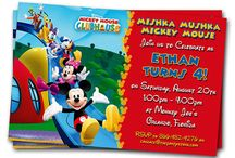 Mickey Mouse Clubhouse Party / by Disney Donna Kay