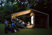 urban / park / pavilion