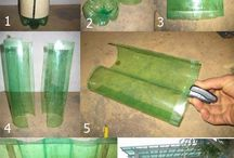 :: PLASTIC MAGIC.....REUSE and RENEW / Plastic BOTTLE CRAFTS AND MORE / by Connie Kight