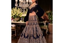 Ethnic Lehenga / Lehenga is one of the most beautiful women attires which are elaborated with sequins, rich embroideries beads, motifs, and complex work. #DesignerLehengas #LehengaSarees