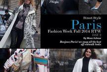 Paris Fashion Week Fall  '14 / PFW