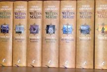 boeken die ik gelezen heb, in mijn jeugd streekromans nu alleen nog fantasy/avontuur