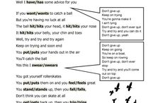 Songs - worksheets
