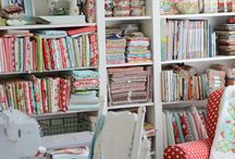Cosy Sewing Room