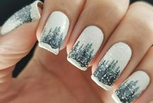 Winter nails ❄️⛄️