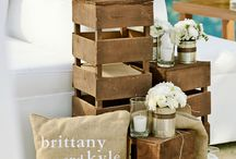 Rustic Wedding Theme / by Lux Events and Design