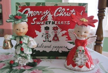 VINTAGE CHRISTmas CERAMICS / by Molly Nye Wells