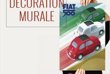 Décorations murales Fou du Volant