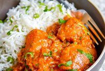 Indian veggie sides
