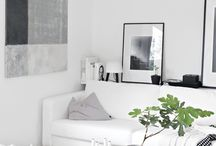 Contemporary Living - clean - white and grey