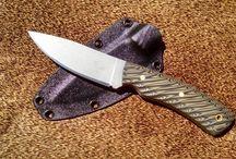 Jeff Crowner Knives / Crowner Custom Elk Knives -- sold here at CBJ Precision Engineered Rifles, Inc. http://precisionengineeredrifles.com/