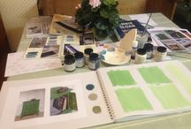 Annie Sloan Inspirations Book / A work in progress with a page dedicated to each colour and all the endless possibilities the colours can create!