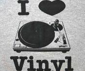 I Love Vinyl Music! / Rare, cool, hip vinyl! Memories carved into grooves on a vinyl disc. Vintage Basement has 'em! www.vintagebasement.com