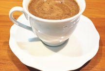 Café e capuccino