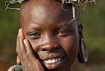 Surma Ethiopia / A tribe from Omo River region, Ethiopia  https://en.wikipedia.org/wiki/Surma_people