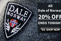 Looking for really Great Norwegian Sweater deals? / Tonight as all rest of the world we have amazing deals at norwayshop.com All regularly priced Dale of Norway - 20% OFF Dale of Norway online outlet - up to 50% OFF Arctic Circle Sweaters - 50% OFF