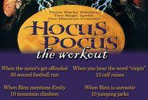 Halloween workouts / Halloween themed Workouts