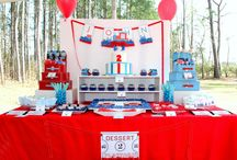 {Flaired Affairs Event} Train Birthday Party / Train party by Flaired Affairs