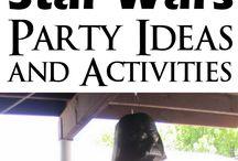 Ethan's 5th Birthday: Star Wars Theme / Star Wars Theme