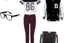 High school outfits