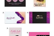Makeup artists branding