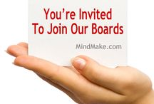 Join The MindMake Boards Here! / Join a MindMake board, become a collaborator.