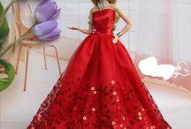 barbie jurken maken