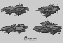 Ships Concepts / Draws