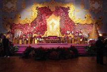 Bridal Stage Backdrop Inspiration