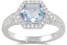 March's Birthstone - Aquamarine! / by Borsheims Fine Jewelry and Gifts