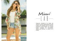 Miami Lab / Miami Lab es una colección inspirada en la fusión de colores y culturas representativos de esta ciudad. Una campaña llena de texturas tropicales y tonos cálidos, con siluetas fluidas cargadas de sensualidad, ideales para disfrutar un verano en la ciudad.