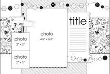 Scrap voorbeeld pagina's