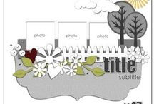 Scrapbook ideas / by Cheryl Smith