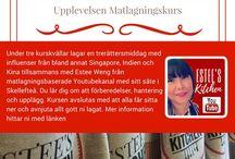 Cooking class - matlagningskurs / Skellefteå - Sweden