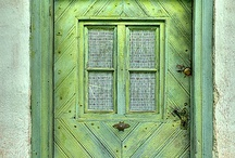 old housefronts, doors, windows