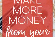 ! Blogging : How to Make Money Blogging ! / Ideas, advice, and how to get started blogging for money | affiliate marketing, digital products, services, ads, other methods of monetization | income reports for inspiration | End goal: stay at home, work at home, and make money online in pajamas