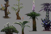 Erilaisia maailoja ja olentoja