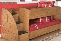 kids' shared bedroom / by Kathleen Quiring