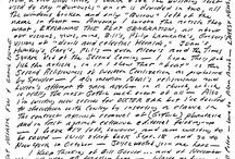 Manuscritos & datilografados