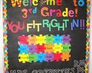 Classroom decorating! :)