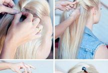Hair styles up